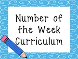 Number of the Week Printable Curriculum. Preschool-PreK Nu