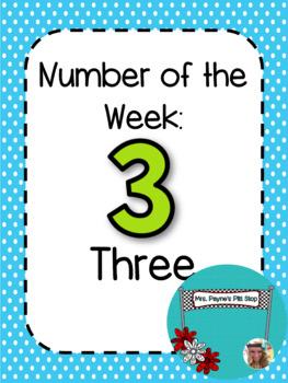 Number of the Week: Three