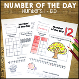 Number of the Day Worksheets 1 to 120