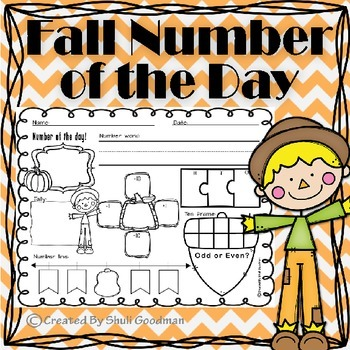 Number of the day Fall style