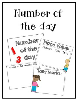 Number of the day / Math Meeting