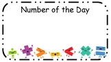 Number of the day - full display