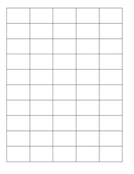 Number order file folder, 1-100