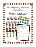 Number patterns Thanksgiving Center 2nd grade
