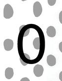 Number playdough cards