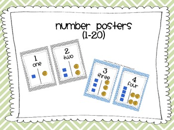 Number posters1-20