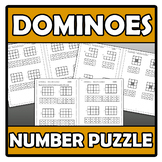 Number puzzle - Dominoes