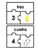 Number puzzles 0-25 (Spanish Edition)