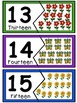 Number puzzles 1-20- Spring Edition