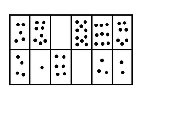 Number recognition, matching and counting activity