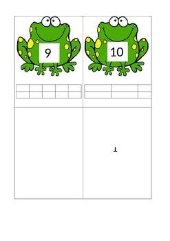 Number recognition/ tens frames
