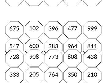 Number sense 2nd grade