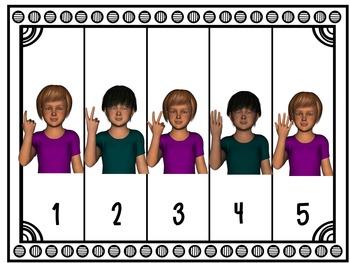 Number Sense Center Activities 1-10 TRANSPORTATION THEME