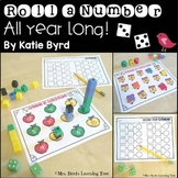 Number sense activities - Roll, Count, Build All year long!
