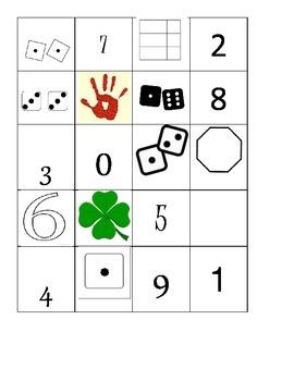 Number sense mats