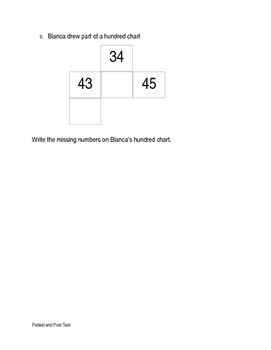 Number sequence pretest