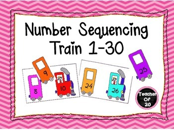 Number sequencing train Center