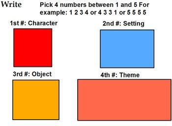 Number story: original short story idea generator by Hi School | TpT