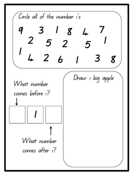 Number study (one)