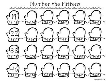 Number the Mittens