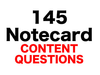Number the Stars 145 Content Questions Whiteboard Game
