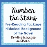 NUMBER THE STARS Background History, Texts, Activities DISTANCE LEARNING
