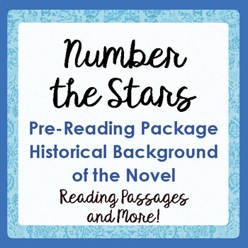 NUMBER THE STARS Prereading History Informational Texts, A