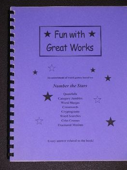 Number the Stars: 29 PAGES OF WORD PUZZLES—Fun & Educational!
