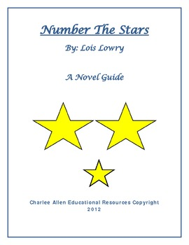 Number the Stars 37 Page Novel Guide