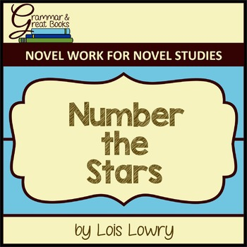 Number the Stars: CCSS-Aligned Novel Work