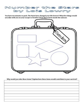 Number the Stars Activity