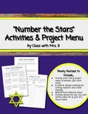 Number the Stars Activity Choice Board