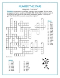 Number the Stars: Anagram Crossword—A Unique Spelling Challenge!