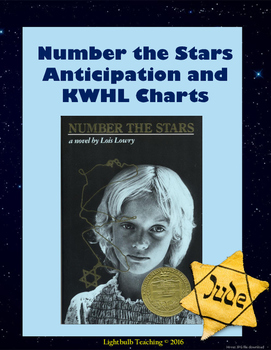 Number the Stars Anticipation Guide and KWHL Chart