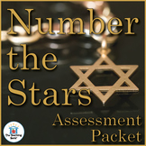 Number the Stars Assessment Packet