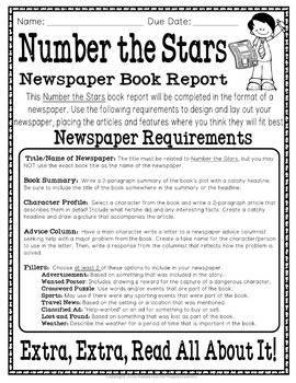 Number the stars book report