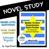 Number the Stars CCSS Comprehension Packet