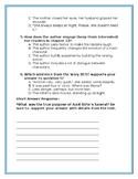 Number the Stars: Chapter 10-12 Comprehension Questions