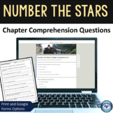 Number the Stars Chapter Questions