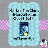 """""""Number the Stars"""" Common Core Historical Fiction Book Club Unit"""