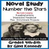 Number the Stars Novel Study & Enrichment Projects Menu; D