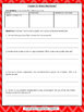 Number the Stars Comprehension Packet