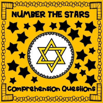 Number the Stars Comprehension Questions for Writing Respo
