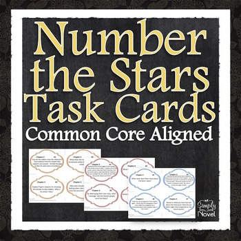 Number the Stars Task Cards
