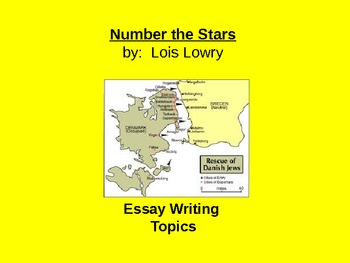 Number the Stars Essay Topics