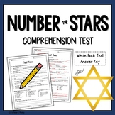 Number the Stars Comprehension Test