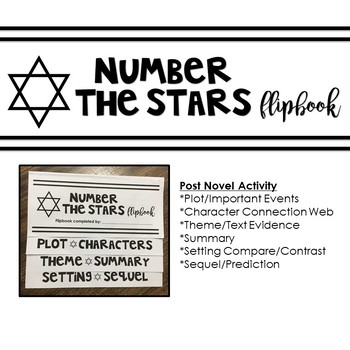 Number the Stars Flipbook