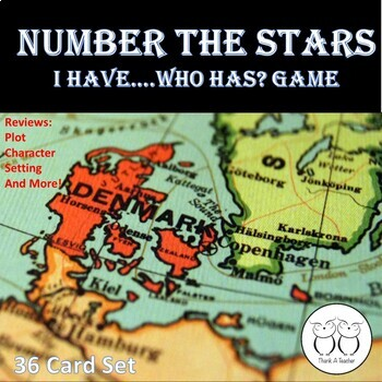 Number the Stars : I Have...Who Has? GAME