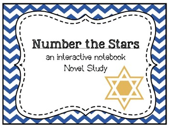 Number the Stars Interactive Notebook Novel Study