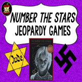 Number the Stars Jeopardy Games